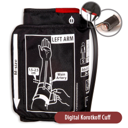 manšete digital Korotkoff...